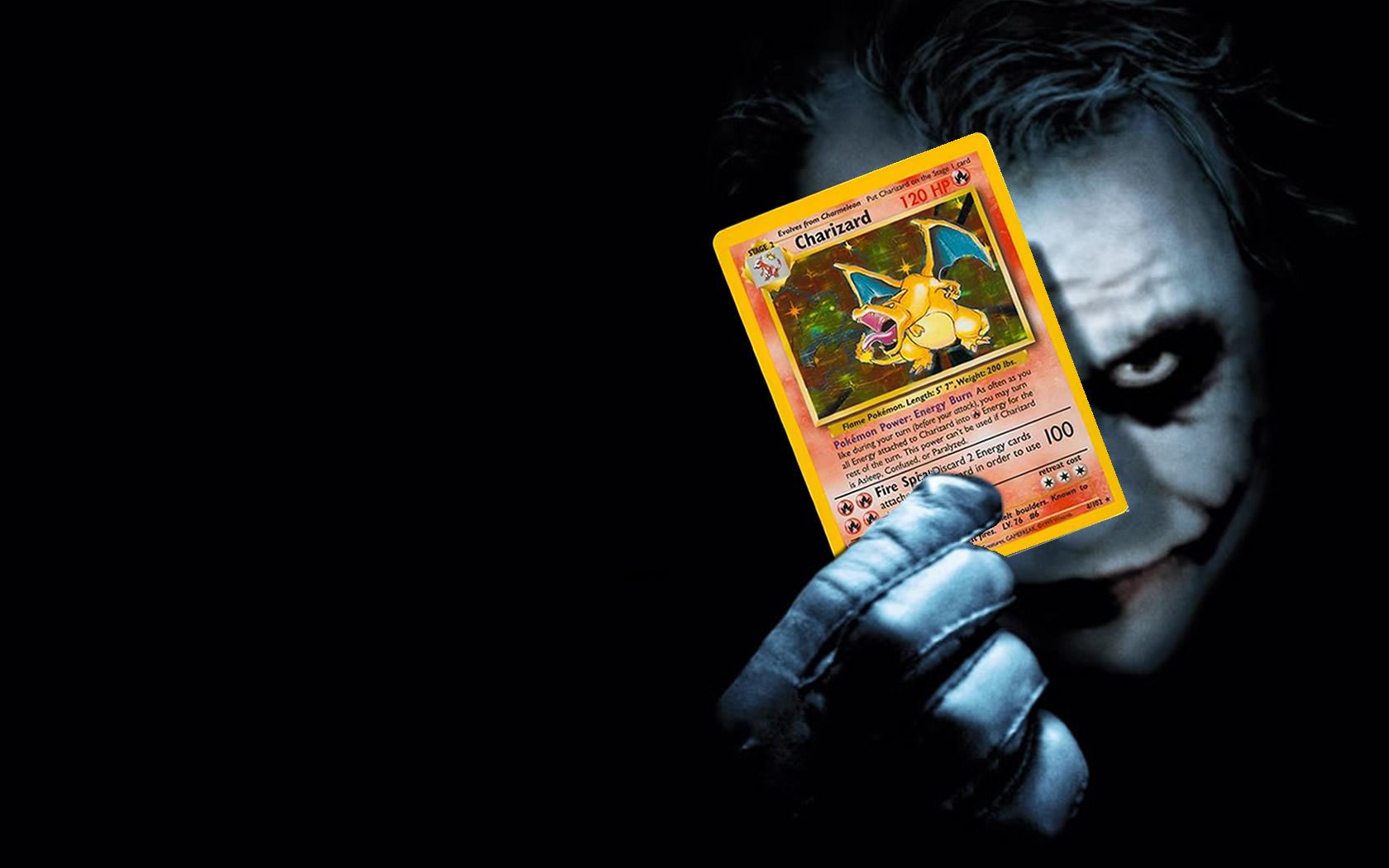 Joker Dark Knight Pokemon Card Photos 1